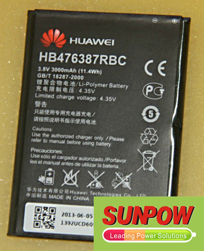 Huawei Honor 3X Battery HB476387RBC ML-HW002 3x10