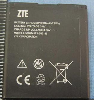 ZTE Blade G LTE Battery li3820t43p3h585155 B11