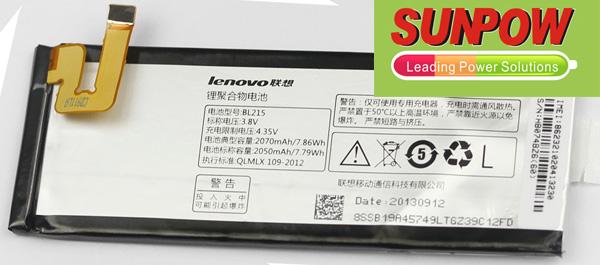 Lenovo VIBE X S960 Battery BL215 Bl215110