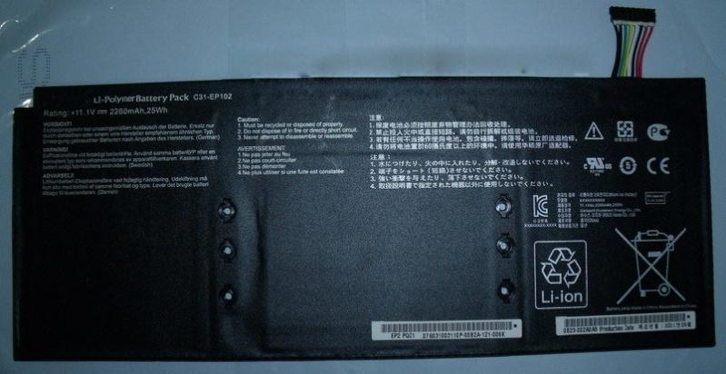 Asus Eee Pad Slider EP102 Battery C31-EP102 Ep10210