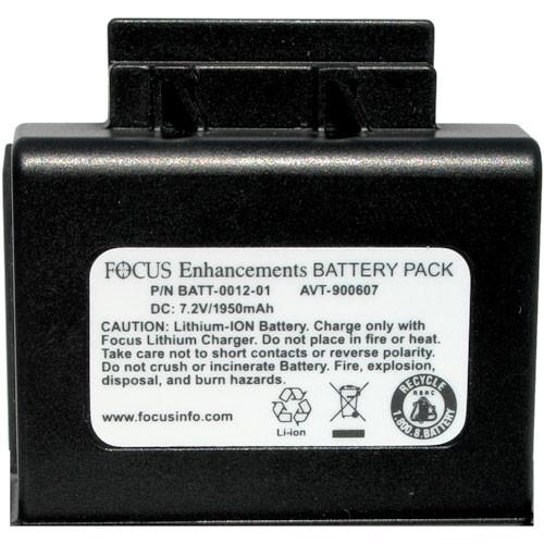 Focus FS-H200 Pro DTE Recorder Battery AVT-900607 Focus10