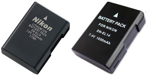 The firmware upate for Nikon D3100, D3200, D5100, D5200 and P7700 makes third-party batteries non-compatible Four10