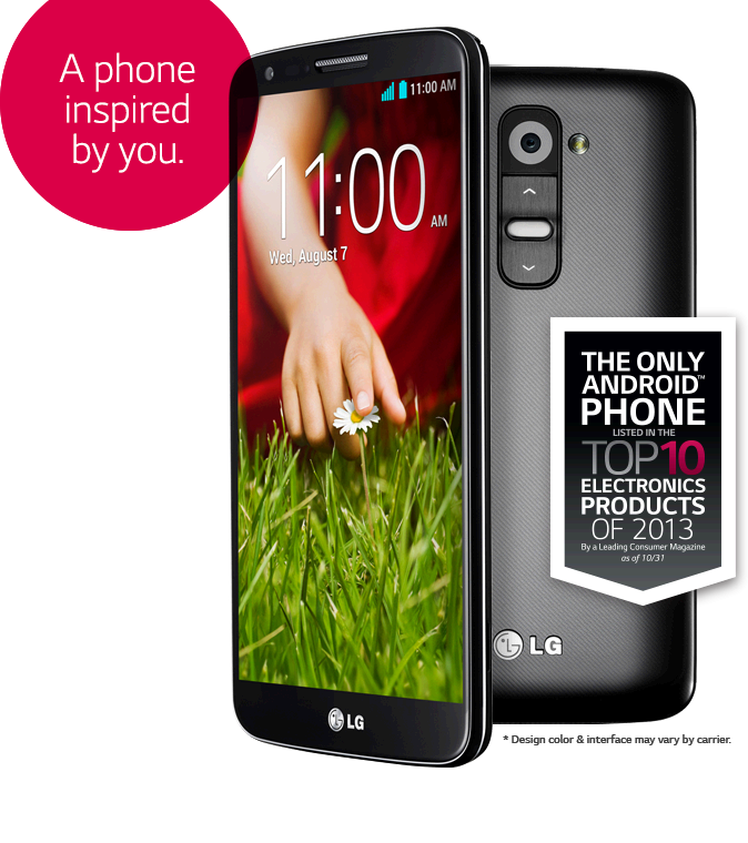 LG G2 uses 3000mAh SiO+ Battery Lgg210