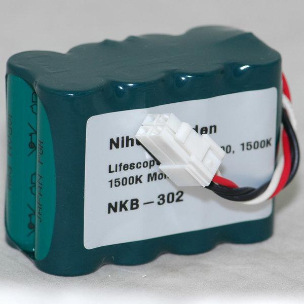 Nihon Kohden Lifescope N OPV 1500 Monitor Battery NKB-302 MD-NK02 Md-nk011
