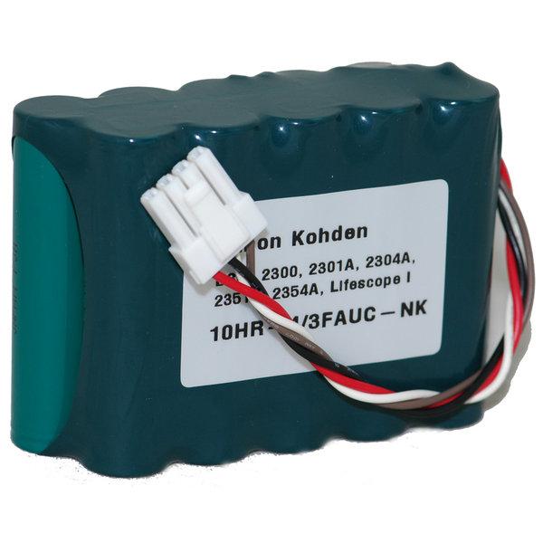Nihon Kohden BSM-2300 Battery 10HR-4/3FAUC-NK MD-NK03 Md-nk012