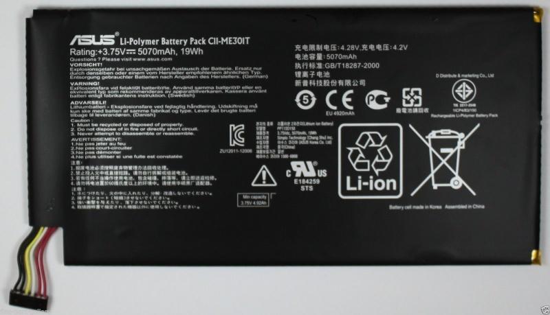 ASUS MEMO SMART PAD 10.1 Battery C11-ME301T Me30110