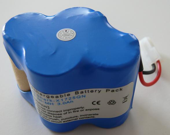 Euro Pro Shark V1930 Battery X1725QN RC-NMEP1930 Rc-nme10
