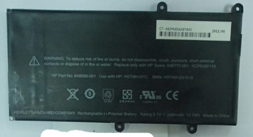 HP TouchPad Go Battery  648568-001 DR-HPAD1 Touchp10