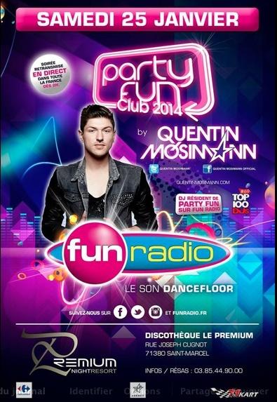(25/1/14) FUN RADIO - 2H- LIVE de son set au PREMIUM Captu261