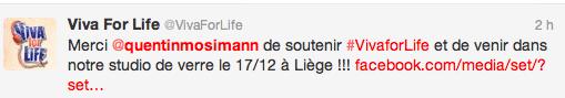 [17/12/2013] Vivacité -   VIVA FOR LIFE Captu836