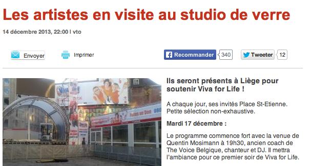 [17/12/2013] Vivacité -   VIVA FOR LIFE Captu845
