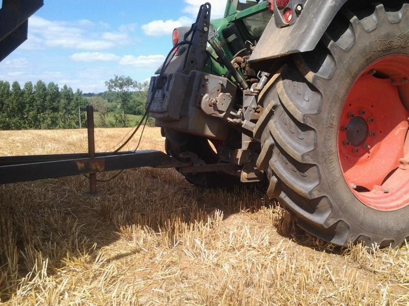 Masse AR tracteur et chariot a tourelle 2013-010