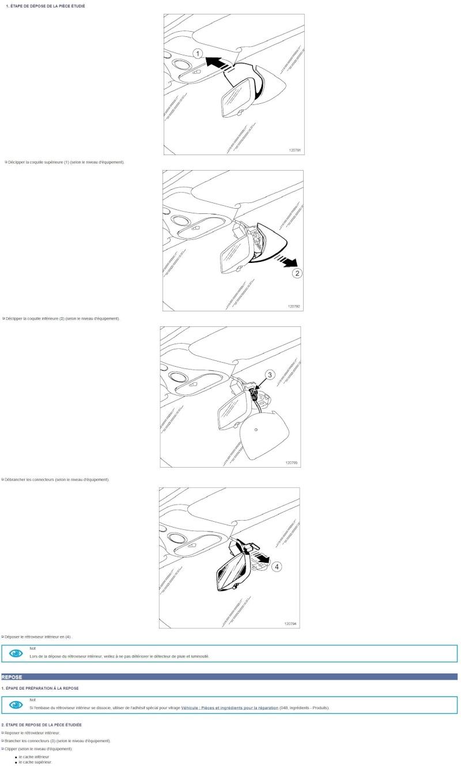 [Tuto] Démontage remontage rétroviseur intérieur Dapose10