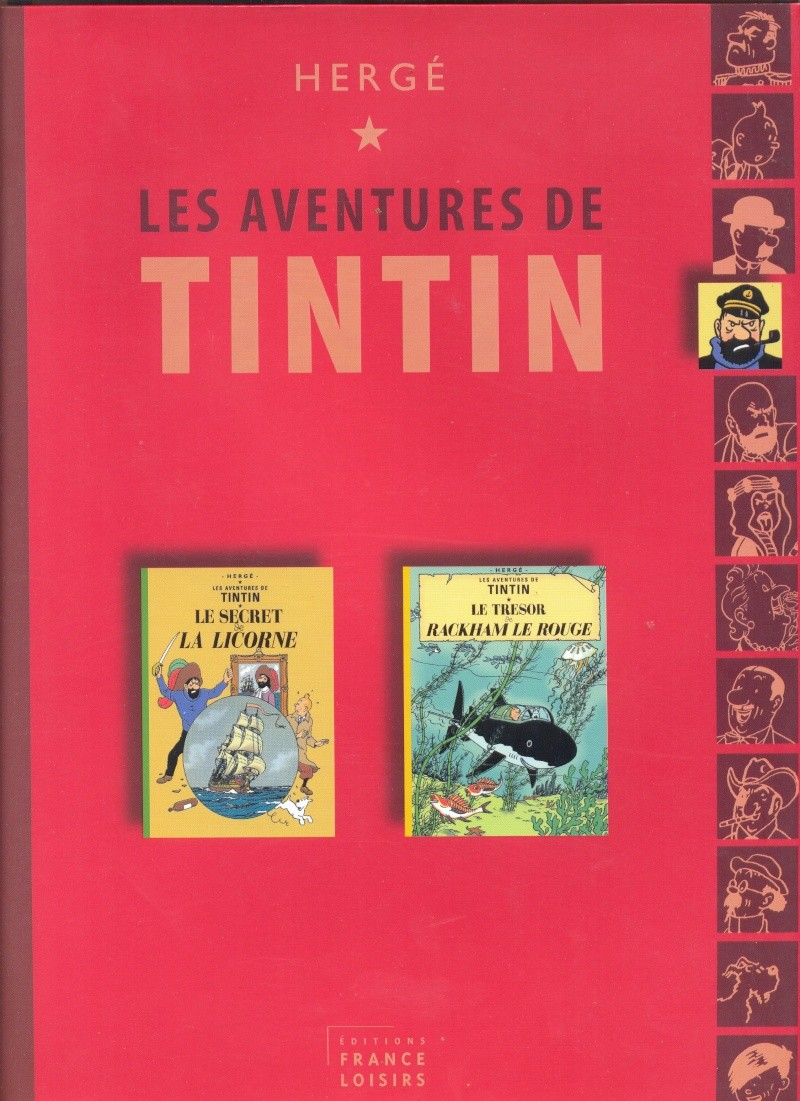 Album double tintin - France Loisirs Tintin12