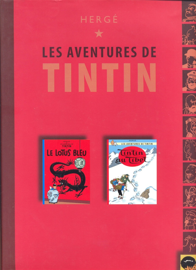 Album double tintin - France Loisirs Tintin13