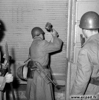 Le 9ème RZ dans la bataille d'Alger (27 janvier 1957) 18_g11