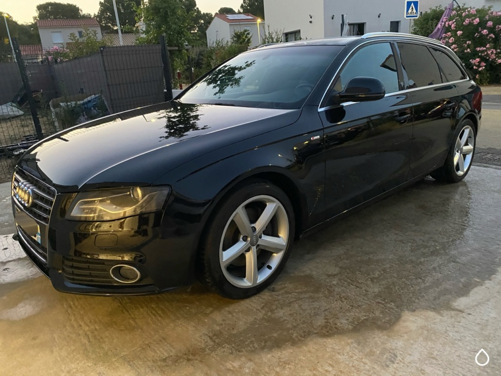 Lavage simple A4 Avant B8 polissage toit Img_3926