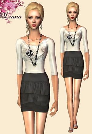 Повседневная одежда (платья, туники, комплекты с юбками) - Страница 2 Imag1125