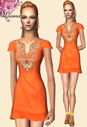 Повседневная одежда (платья, туники, комплекты с юбками) - Страница 4 Imag1197