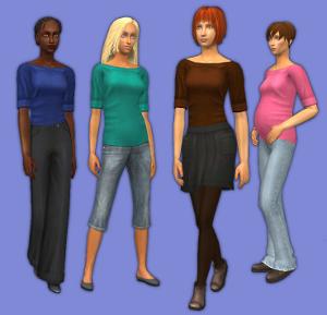 Повседневная одежда (топы, блузы, рубашки) - Страница 6 Imag2357
