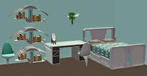 Спальни, кровати (модерн) - Страница 22 Imag2370