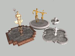 Фонтаны, статуи - Страница 3 Image118