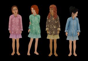 Для детей (нижнее белье, пижамы, купальники) - Страница 4 Image238