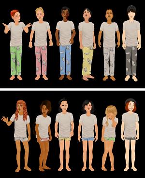 Для детей (нижнее белье, пижамы, купальники) - Страница 4 Image291