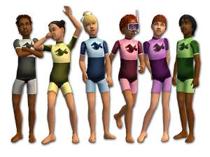 Для детей (нижнее белье, пижамы, купальники) - Страница 4 Image316