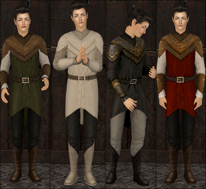 Старинные наряды, костюмы - Страница 3 Image953