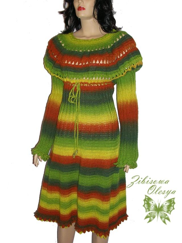 Вязаное платье Dscn3111