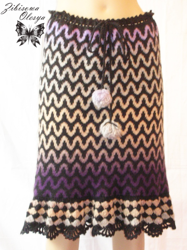 Вязаная  теплая юбка Волна Dscn3212