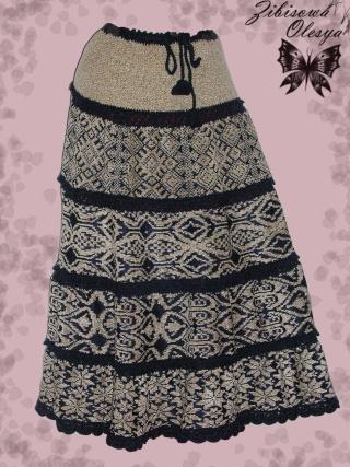 Вязаная юбка Анаконда. Dscn3215