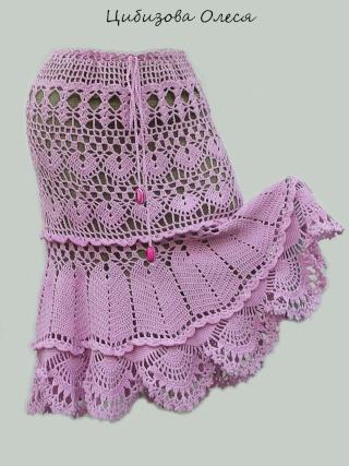 Вязаная юбка Dscn3311
