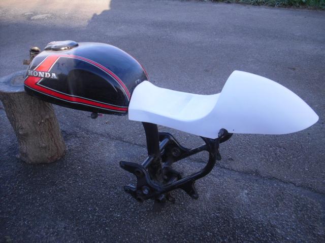"Prépa 400 cx cafe racer ""The Darkracer CX"" Coque-10"