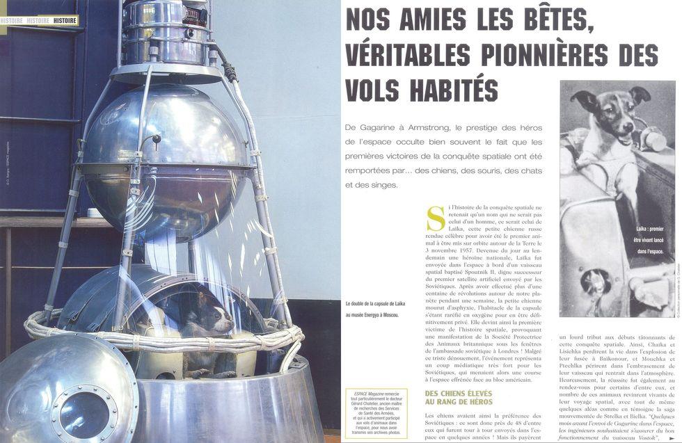 3 novembre 1957 - Spoutnik 2 - Laïka - 1er sacrifié spatial 05090010