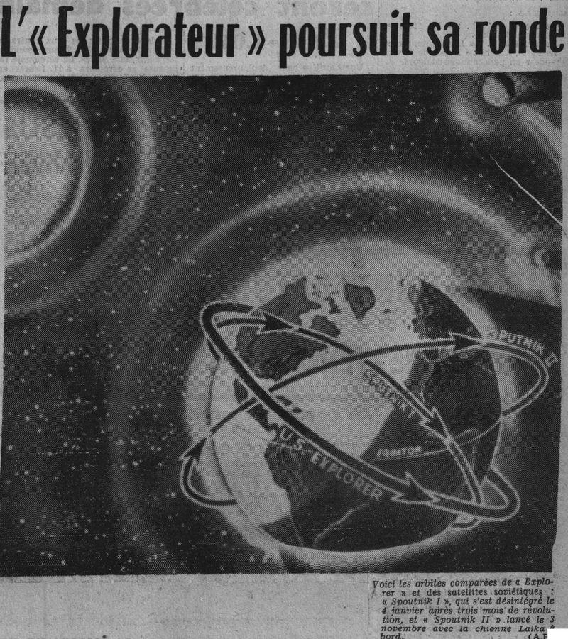 01 février 1958 - Explorer 1 - Les US démarrent la course 58020410