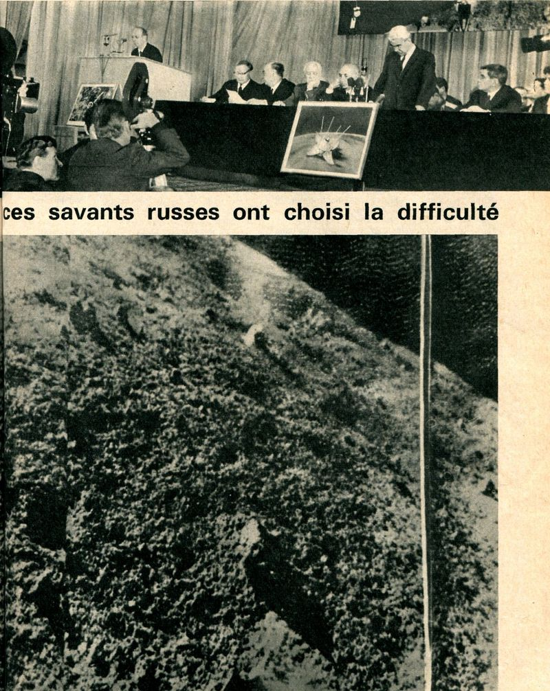31-1-1966 - Luna 9 - 1er atterrissage en douceur sur la Lune 66040011