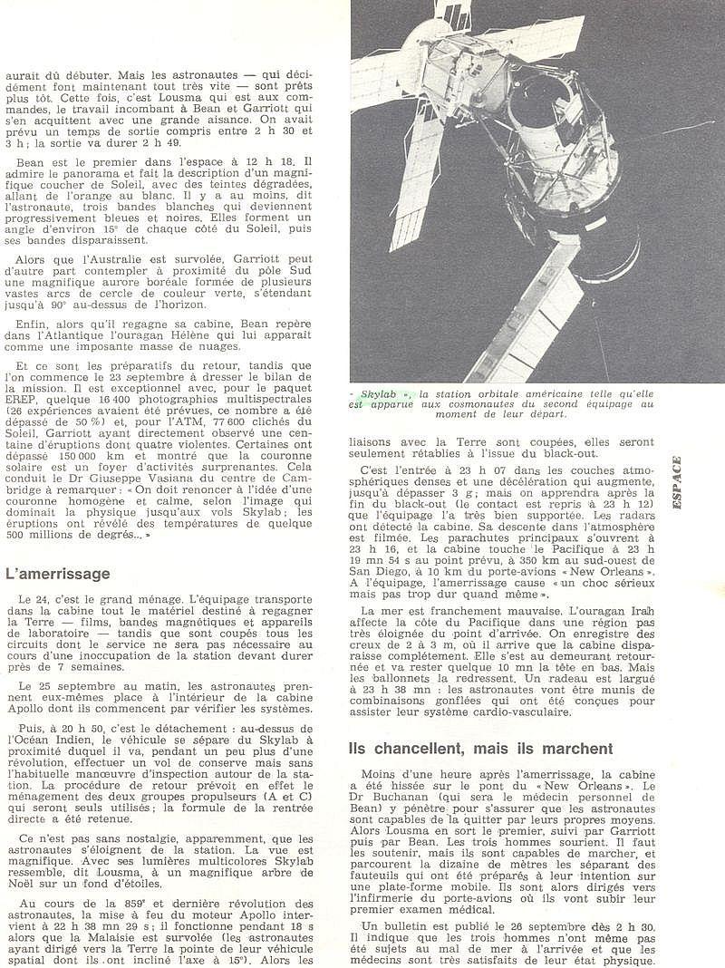14 mai 1973 - Skylab - Seule station spatiale américaine - Page 2 73101311