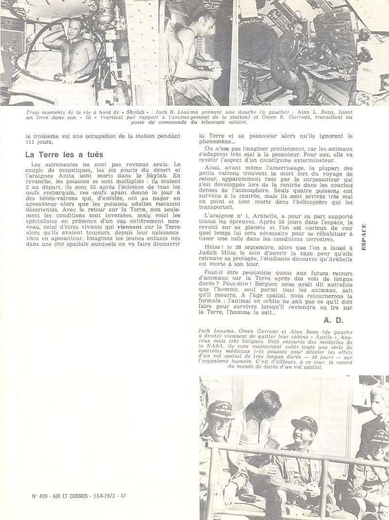 14 mai 1973 - Skylab - Seule station spatiale américaine - Page 2 73101313