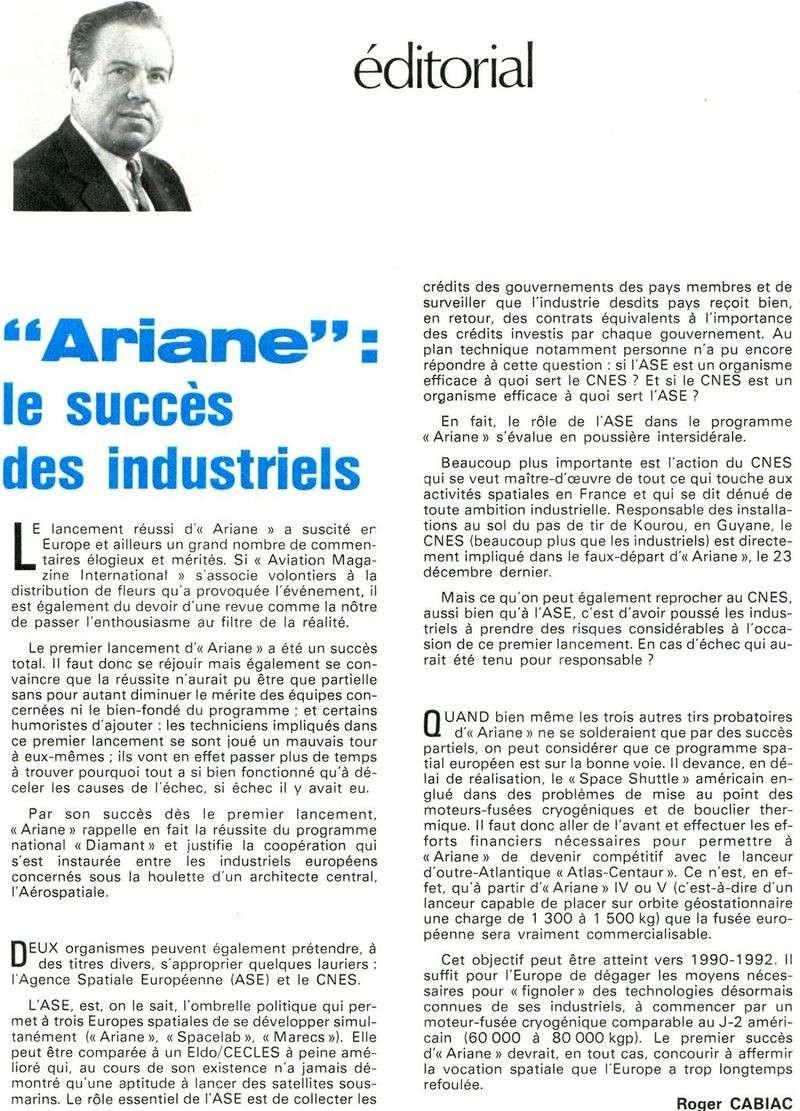 24 décembre 1979 - Début de l'ère d'Ariane 80011510