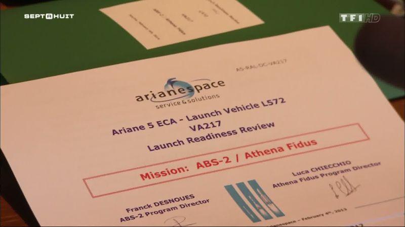 TF1 - Sept à huit - Dans les coulisses d'un tir ArianeV Ariane10