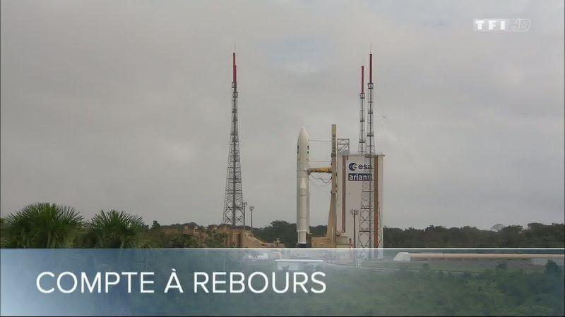 TF1 - Sept à huit - Dans les coulisses d'un tir ArianeV Ariane11