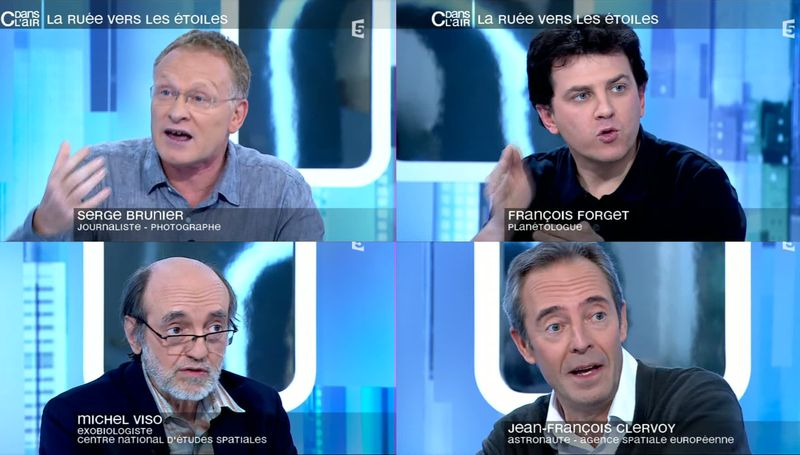 France5 - C dans l'air - La ruée vers les étoiles Panora14