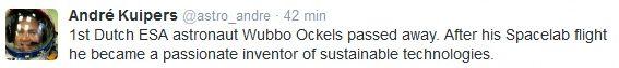 Wubbo Ockels ....  Sans_t14