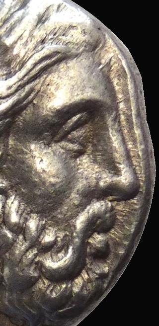 Drachme Alexandre le Grand Lignes11