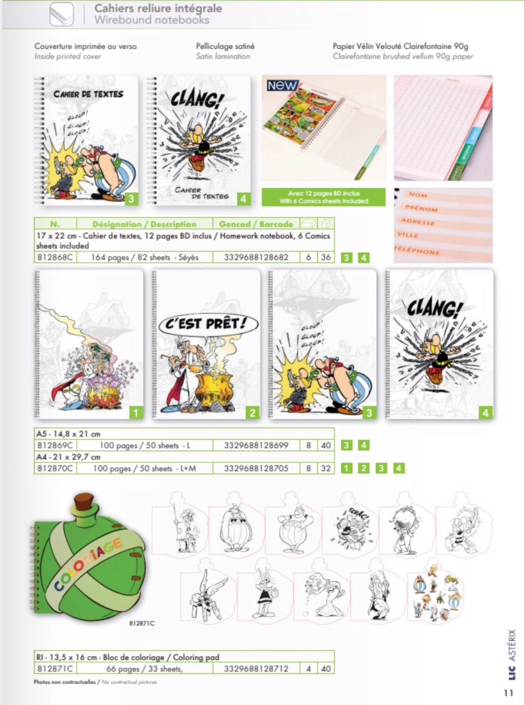 Fournitures scolaires Clairefontaine 2019  1b69be10