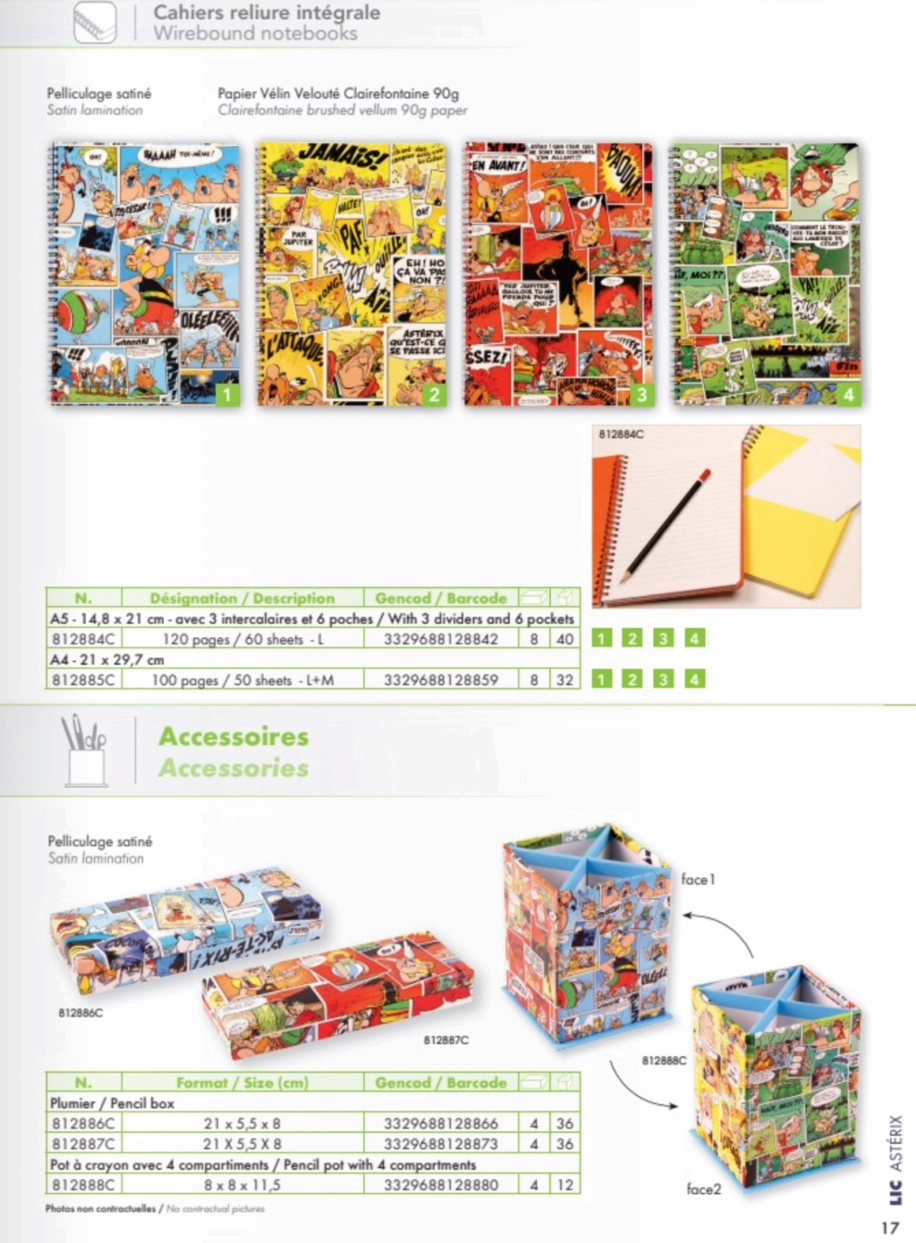 Fournitures scolaires Clairefontaine 2019  9d4ed310