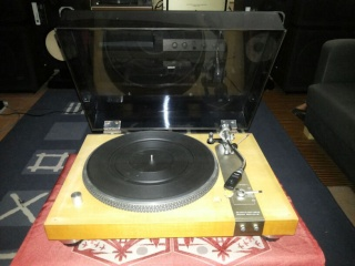 Micro Seiki Turntable model DD5 and Solid 5 - SOLD Tt311