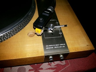 Micro Seiki Turntable model DD5 and Solid 5 - SOLD Tt411